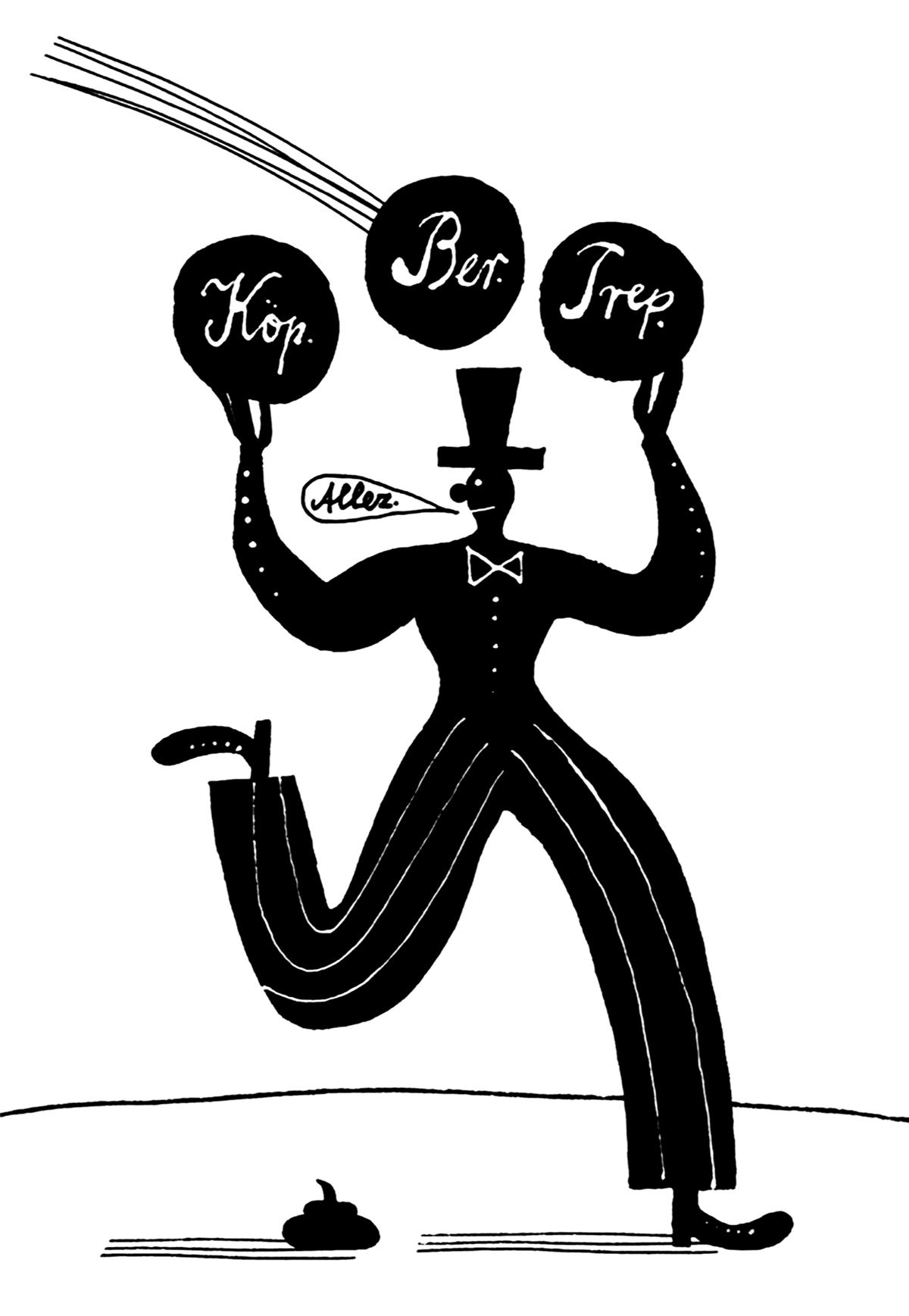 Franz Zauleck, Titelillustration DER MAULBÄR Kulturkalender
