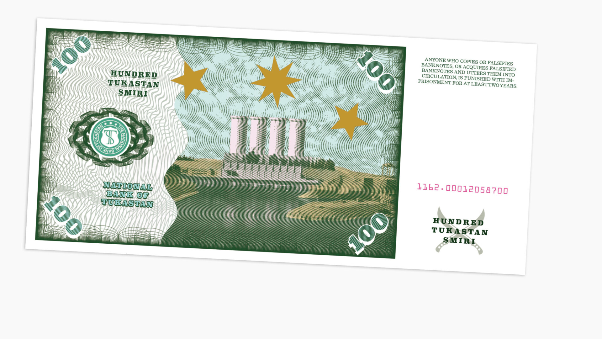 Illustration Tukastan Währung Smiri